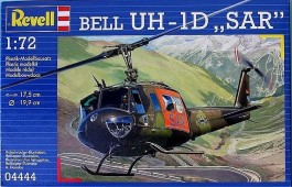 Helicoptero Bell UH-1D SAR - REVELL ALEMA