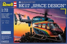 Helicoptero Eurocopter BK-117 - Space Design - REVELL ALEMA