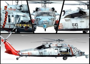 Helicoptero MH-60S HSC-9 - Tridents ACADEMY