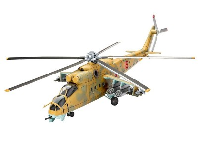 Helicoptero Mil Mi-24D Hind REVELL ALEMA