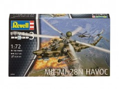 Helicoptero Russo Mi-28N HAVOC - REVELL ALEMA