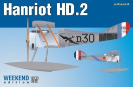 Hidroaviao Biplano Hanriot HD-2 - Weekend Edition - EDUARD