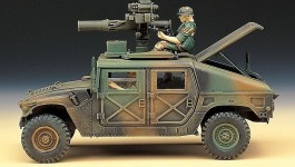 Jeep Hummer M-966 TOW Missile Carrier ACADEMY