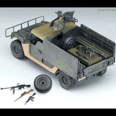 Jeep Hummer M-998 I.E.D Gun Truck - Improved Explosive Devic ACADEMY