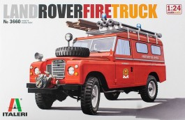 Jeep Land Rover Defender 109 - Fire Truck               3660 - ITALERI
