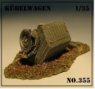 Kubelwagen Danificado - Set 2 - ARSENAL HOBBY