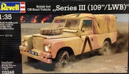 Land Rover  Serie III 109 LWB - Bristish Off-road 4x4 Vehicl - REVELL ALEMA