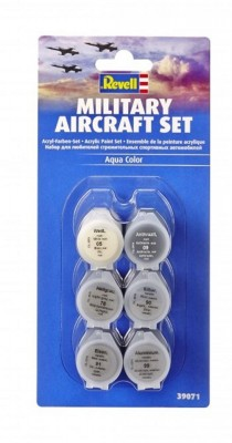 Military Aircraft Paint Set - Conjunto 6 Tintas REVELL ALEMA