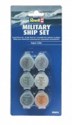 Military Ship Paint Set - Conjunto 6 Tintas - REVELL ALEMA