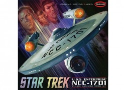 Nave Star Trek Enterprise NCC-1701 - Original Series - DISCO POLAR LIGHTS