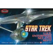 Nave Star Trek Enterprise NCC-1701 REFIT - Jornada nas Estre - POLAR LIGHTS