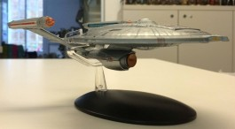 Nave Star Trek Enterprise NCC-1701 REFIT - Jornada nas Estre POLAR LIGHTS