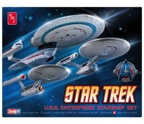 Nave Star Trek USS Enterprise - NCC-1701-C               661 - AMT