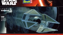 Nave Tie Fighter Interceptor - Star Wars               03603 - REVELL