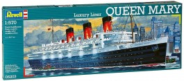 Navio Luxury Liner Queen Mary - REVELL ALEMA