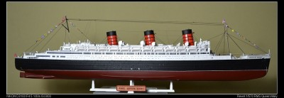 Navio Luxury Liner Queen Mary REVELL ALEMA