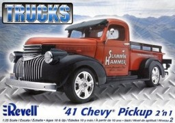 Pick-up Chevy 1941 - 2 em 1               7202 - REVELL AMERICANA