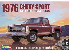 Pick Up Chevy Sports Stepside 4X4 1976                 14486 - REVELL