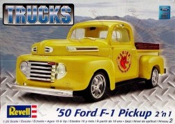 Pick-up Ford F-1 1950 - 2 em 1 - REVELL AMERICANA