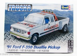 Pick Up Ford F-350 Duallie                             4376 - REVELL