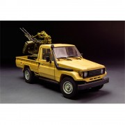 Pick-Up Toyota Hilux with ZPU-2 Anti-Aircarft Cannon MENG