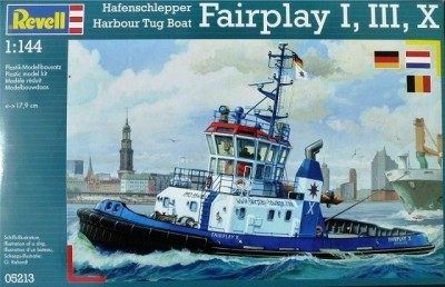 Rebocador Harbour Tug Boat Fairplay I, III, X REVELL ALEMA