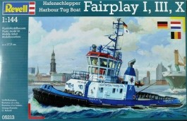 Rebocador Harbour Tug Boat Fairplay I, III, X - REVELL ALEMA