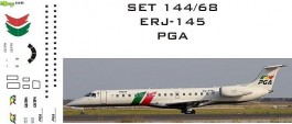 Set Decais Embraer ERJ-145 - Portugalia - RBX DECAIS