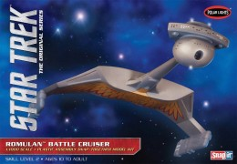 Star Trek Romulan Battle Cruiser - Jornada nas Estrelas - POLAR LIGHTS