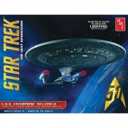 Star Trek U.S.S. Enterprise 1701-D (Clear Edition) - NEXT GE - AMT