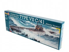 Submarino Alemão TYPE VII C / 41 Atlantic version - REVELL ALEMA