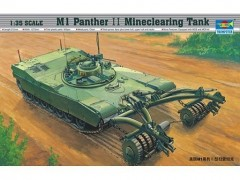 Tanque Abrams M1 Panther II Mine Clearing               0346 - TRUMPETER