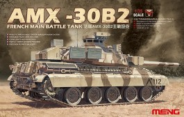 Tanque AMX-30B2 - French Main Battle Tank - MENG