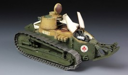 Tanque French FT-17 - Light Tank - Cast Turret MENG