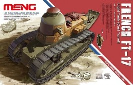 Tanque French FT-17 - Light Tank - Cast Turret - MENG
