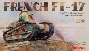 Tanque French FT-17 - Light Tank - Riveted Turret MENG