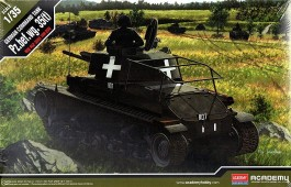Tanque German Command Tank Pz.Bef.wg 35t - ACADEMY
