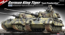 Tanque German King Tiger - Last Production - ACADEMY