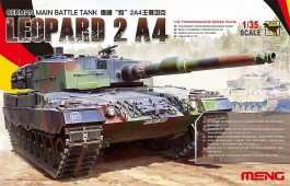 Tanque German Main Battle LEOPARD 2 A4 - MENG
