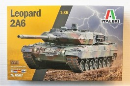Tanque German Main Battle LEOPARD 2 A6                  6567 ITALERI