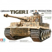 Tanque German Tiger I - Mid Production TAMIYA