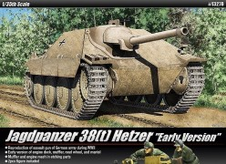 "Tanque JAGDPANZER 38(t) HETZER ""Early Production Version"" - ACADEMY"