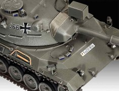 Tanque Leopard 1                                     03240 REVELL ALEMA