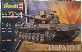 Tanque Leopard 1 - REVELL ALEMA