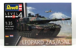 Tanque Leopard 2A5/A5NL - REVELL ALEMA