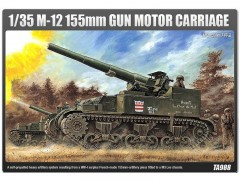 Tanque M-12 155mm - Gun Motor Carriage - ACADEMY