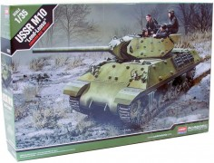 Tanque M10 - USSR - Lend-Lease Program C/ Tripulacao - ACADEMY