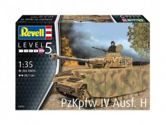 Tanque Panzer PzkPfw IV Ausf. H                     03333 - REVELL ALEMA