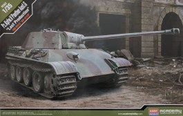 Tanque Pz.Kpfw V Panther Ausf.G - Last Production - ACADEMY