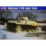 Tanque Russian T-40 Light Tank - HOBBYBOSS